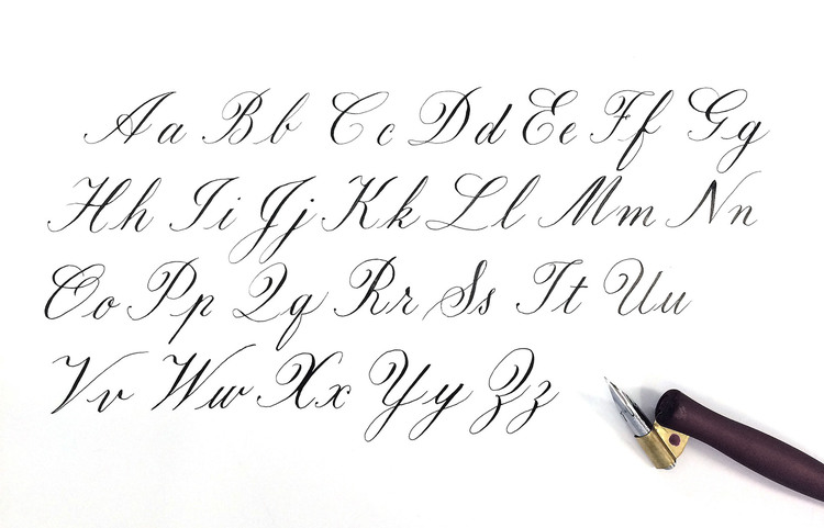 Copperplate Calligraphy Guide Sheets Typerie