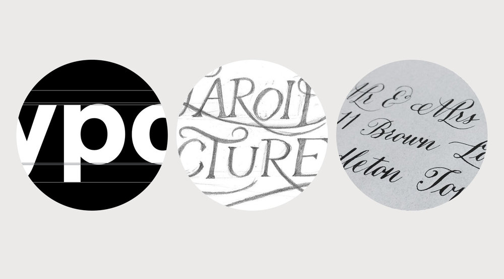 What are the differences between typography lettering Difference between calligraphy and typography