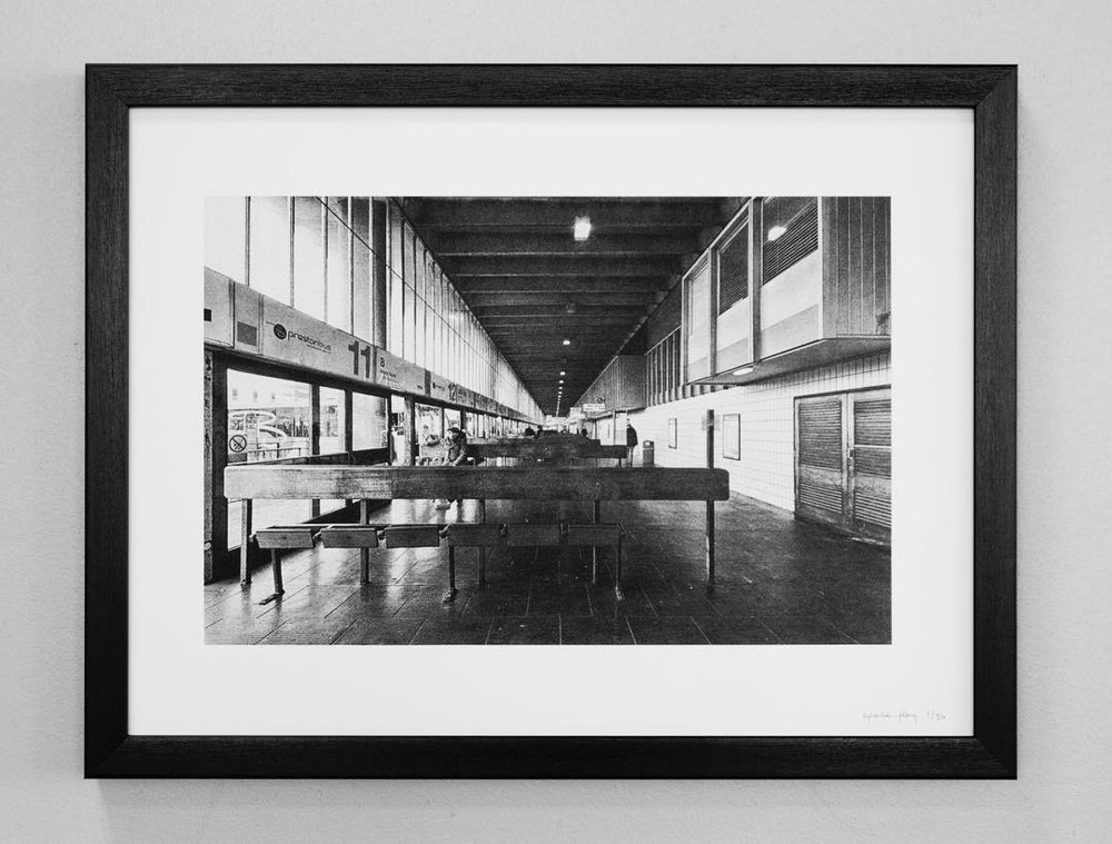 PRESTON PRINTS - exploring texture and space of a brutalist icon