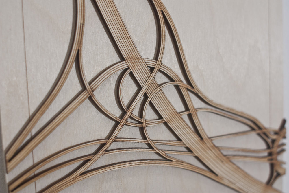 SPAGHETTI JUNCTION - wood cut pieces still available
