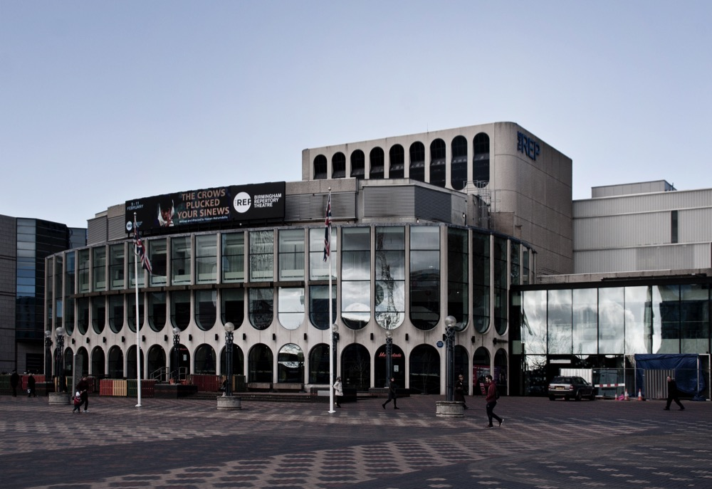 Birmingham REP Theatre, as seen from Centenary Square