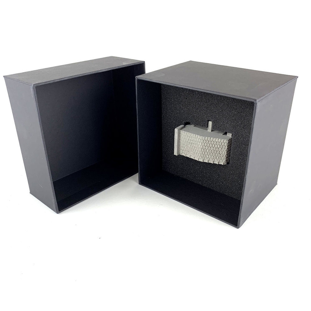 Gift boxed mini concrete sculptures