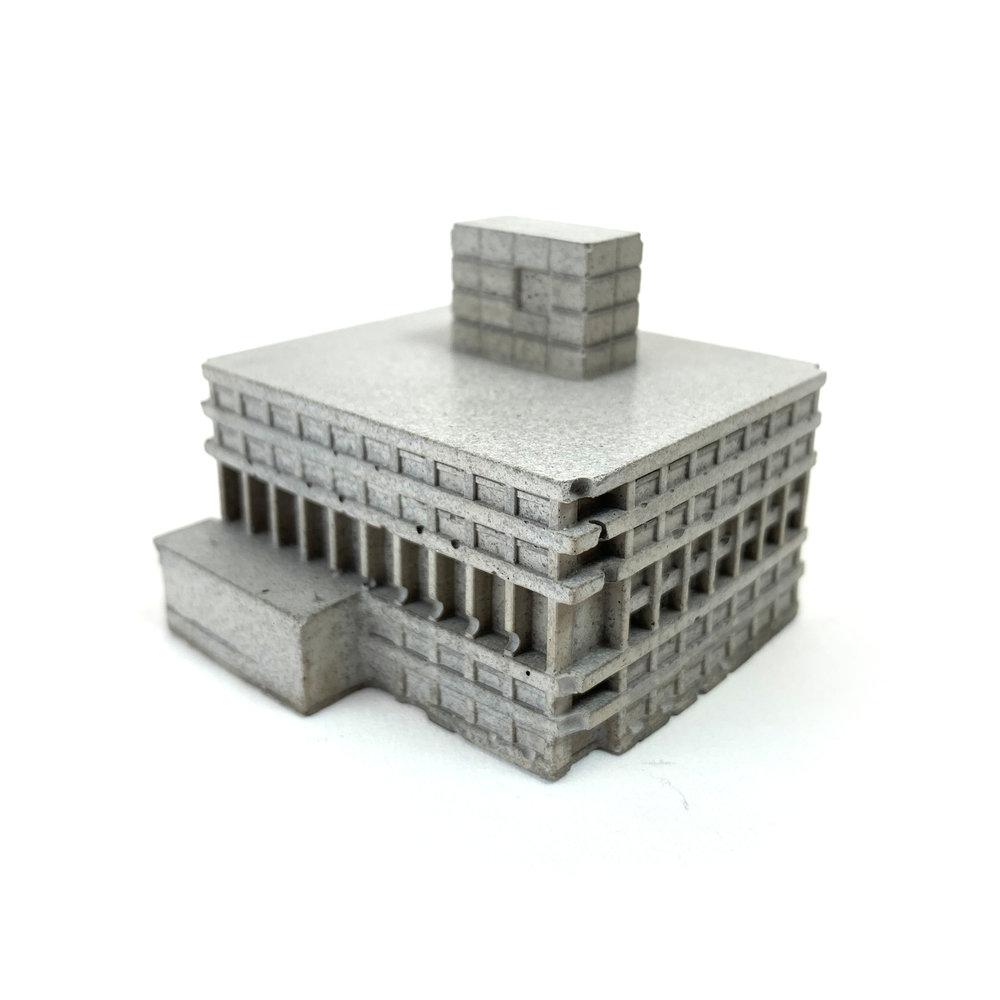 Our 'Mini Concrete' UEA Library Building