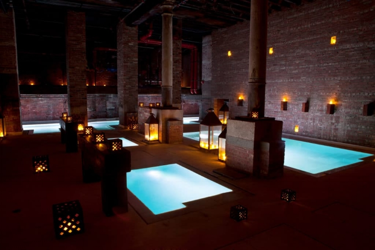Aire Spa , Ancient Thermal Bath & 30 min Massage,  $146.30