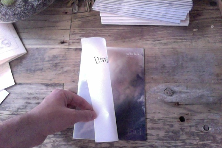 Second ed. of [fire!] ([sic] Press 2011) - just in from Detroit, MI. New translucent cover over photo of California wildfires. Coming soon to readings and bookstores.