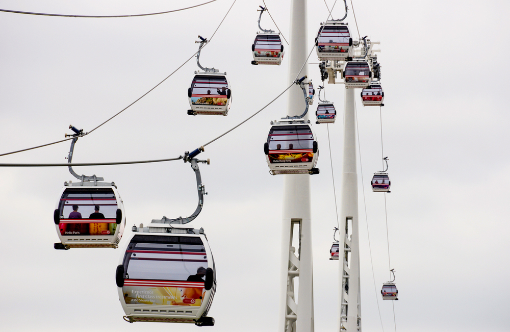 Emirates Air Line, London.