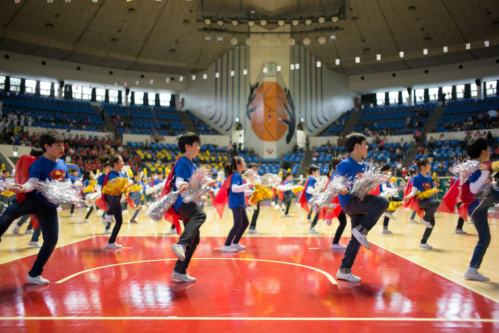 School Performance, Jamsil Gymnasium, Seoul