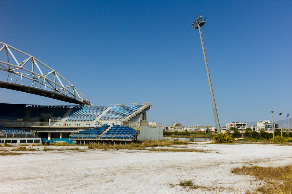 Faliro Olympic Beach Volleyball Centre, Athens