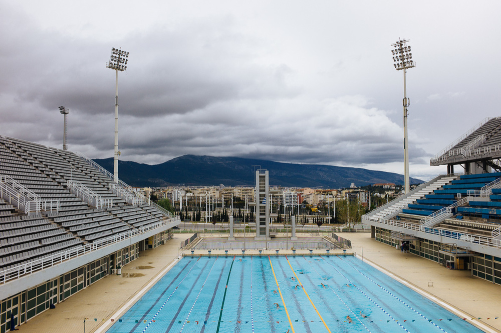 Olympic Aquatic Center, OAKA, Athens