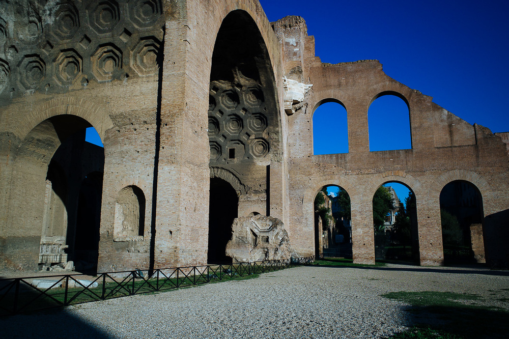 Basilica of Maxentius, Rome