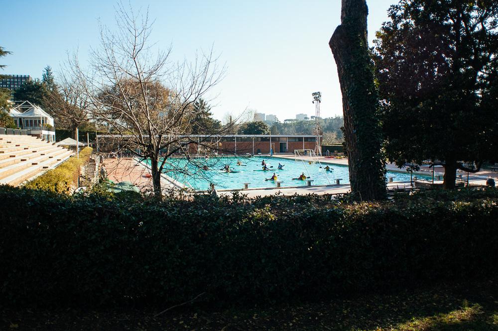 Piscina delle Rose, Rome