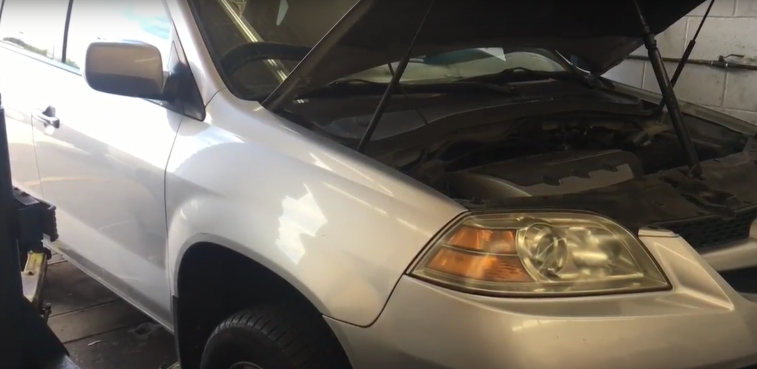 How To Change The Transmission Fluid On A Acura MDX How To - 2005 acura mdx transmission fluid