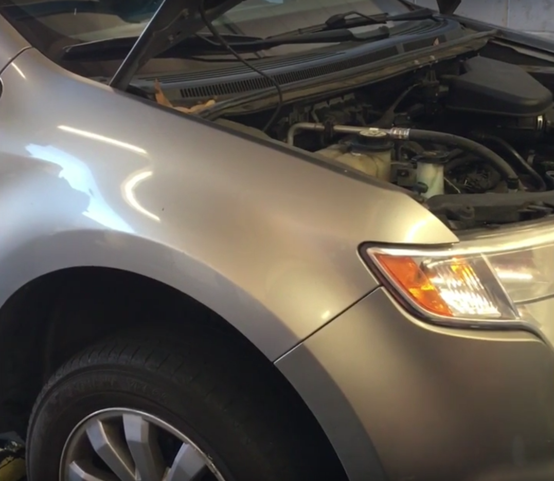 How To Replace The Front Wheel Bearings On A   Ford Edge Lincoln