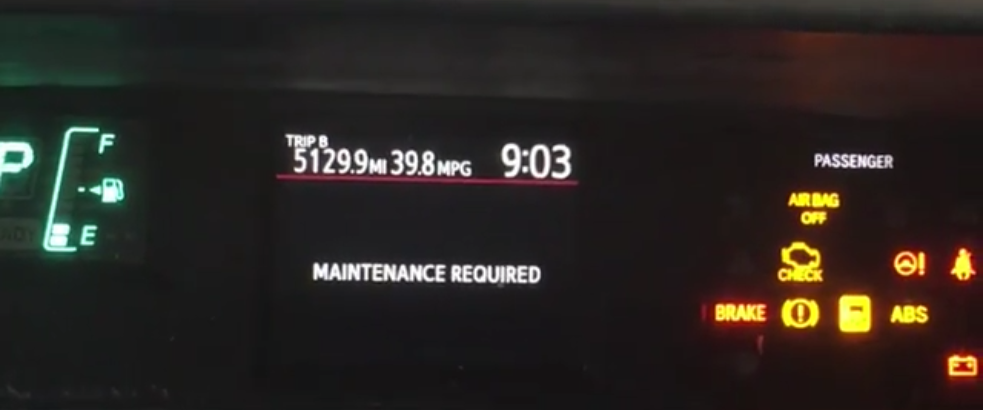 Prius Maintenance Required >> How To Reset The Maintenance Required Light On A 2014 Prius C How