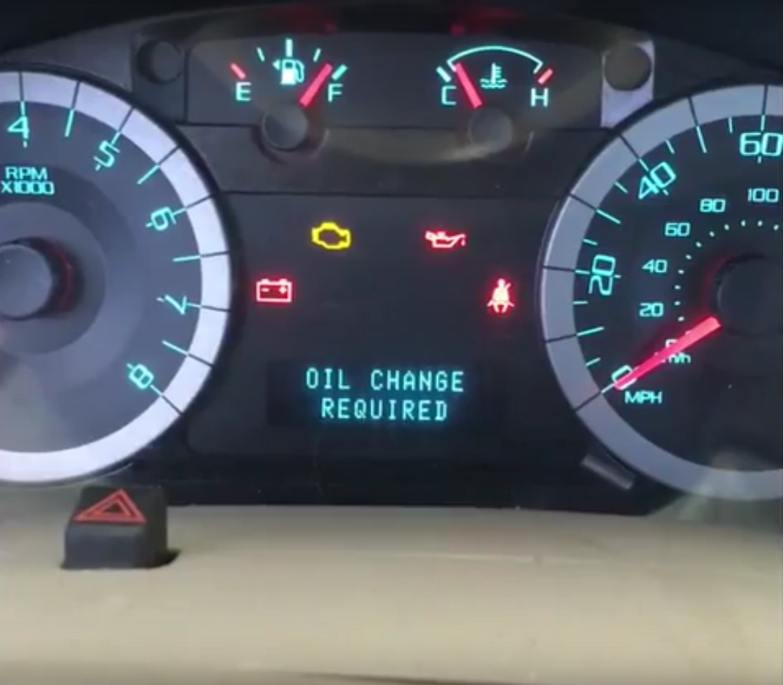 Reset oil change ford escape