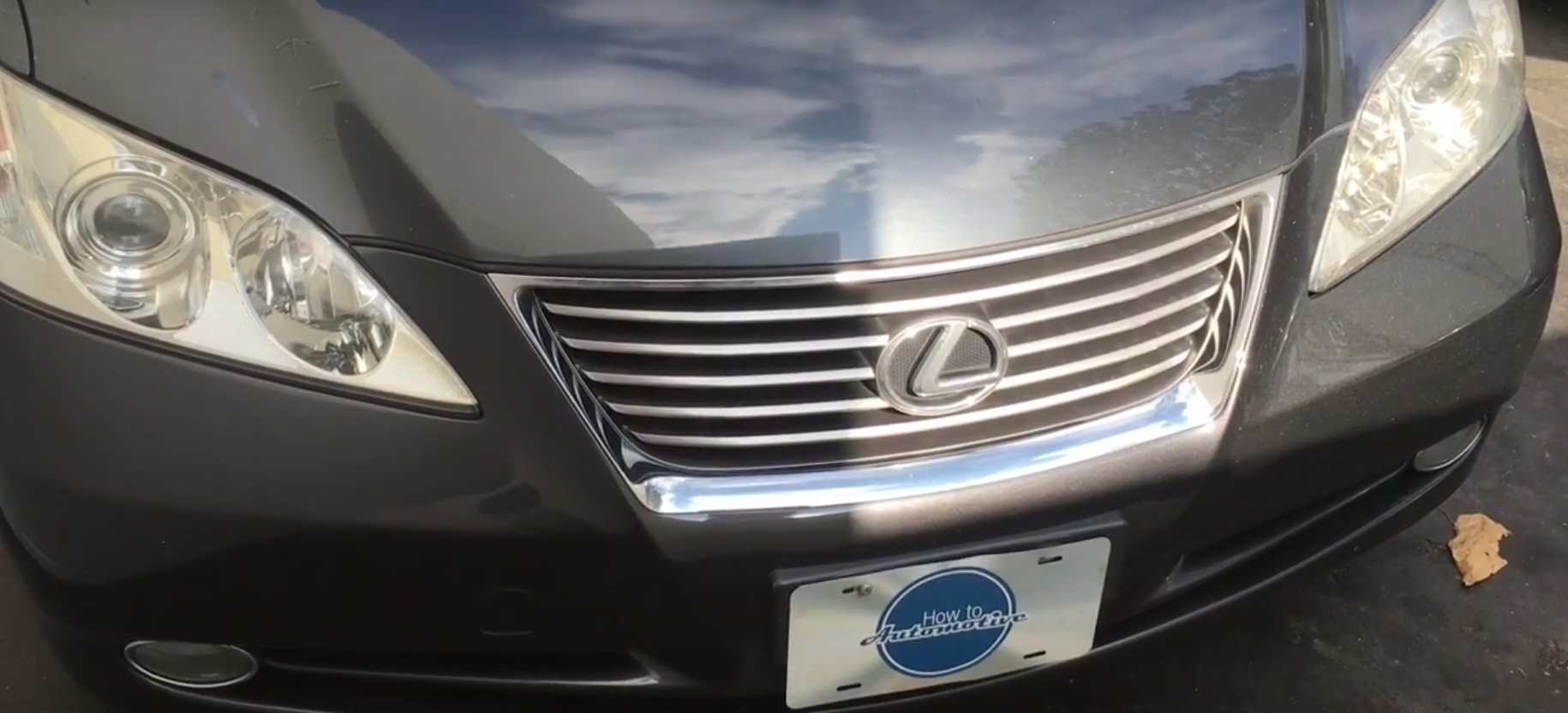 How To Remove And Install The Front Door Panel On A 2009 2012 Lexus