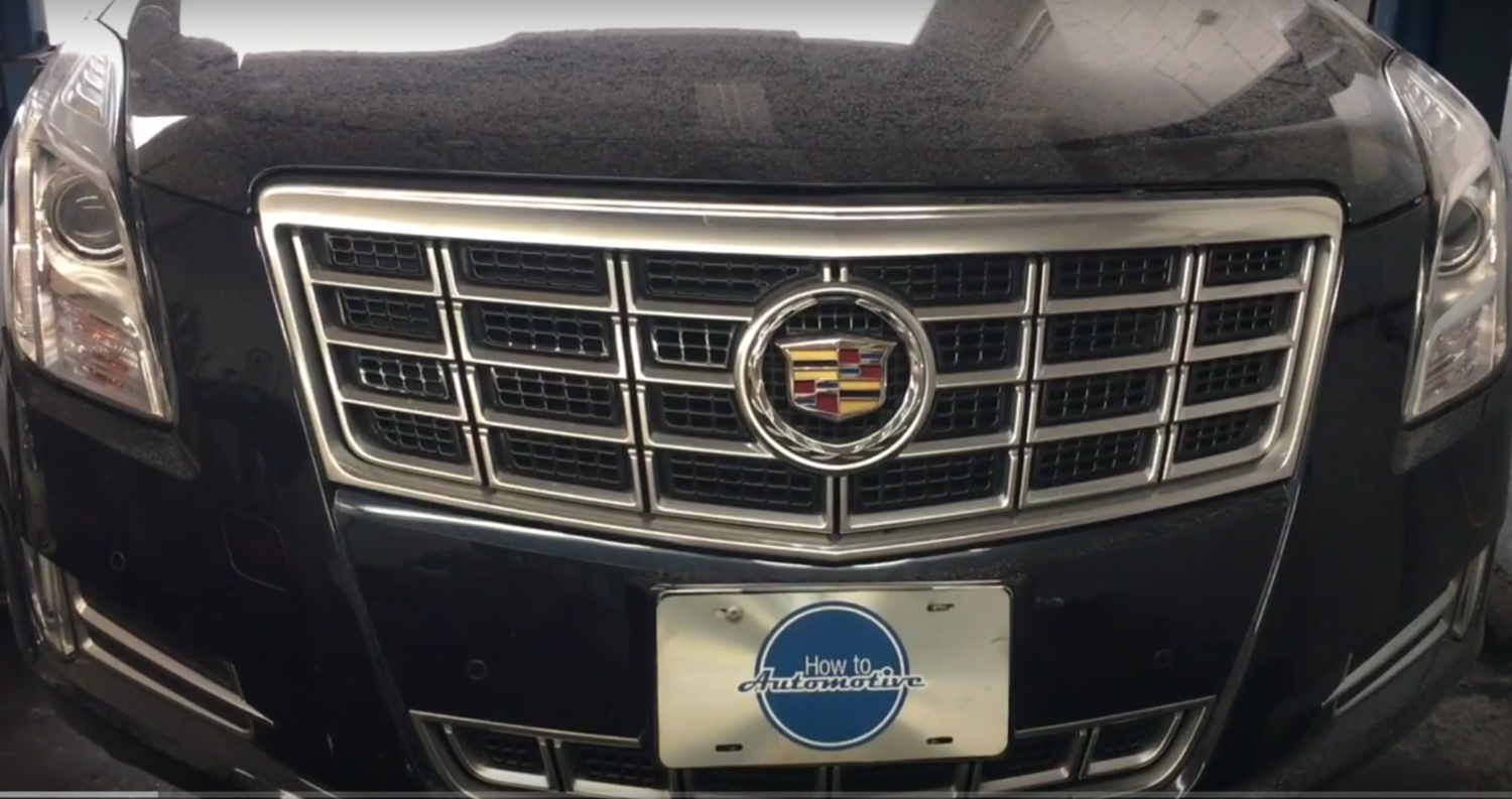 How to Replace the Rear Suspension Parts on a 2014 Cadillac