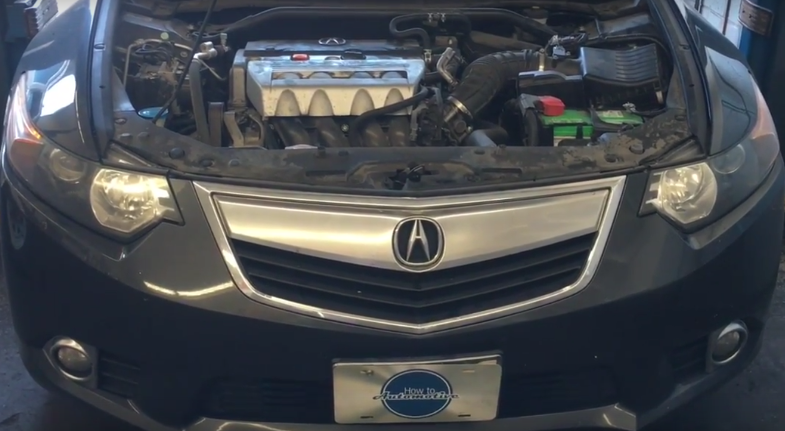 how to replace the spark plugs on a 2009 2014 acura tsx with 2 4l