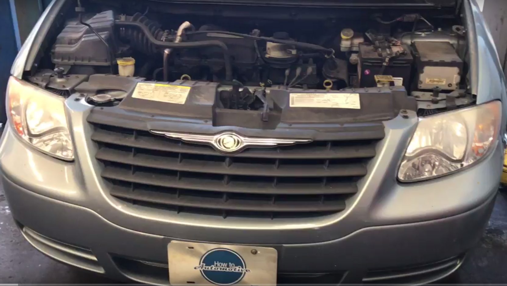 How To Replace The Alternator On A 2001 2007 Dodge Caravan Chrysler
