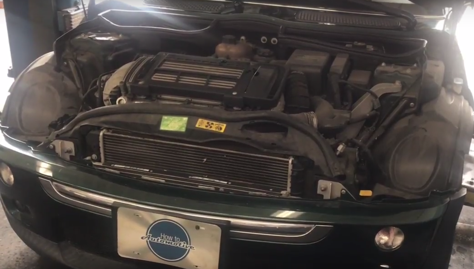 How To Replace The Power Steering Reservoir To Pump Feed Hose On A