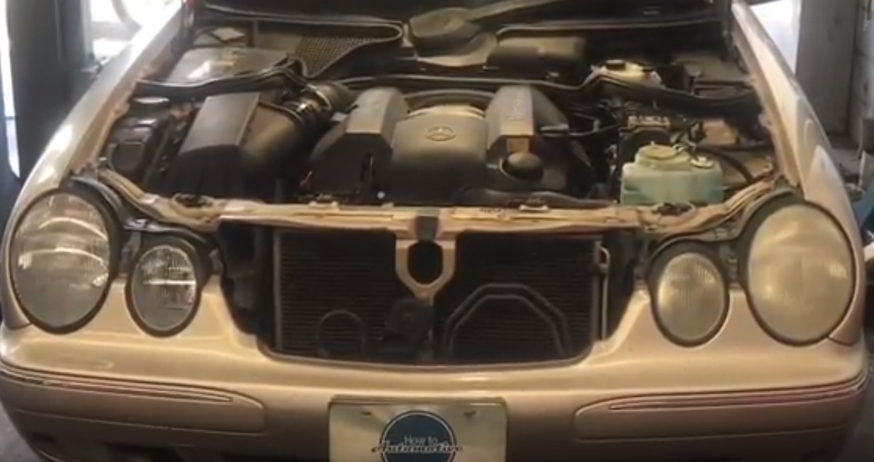 How to Replace the EGR Valve on a 2002-2009 Mercedes E320 W211 — How