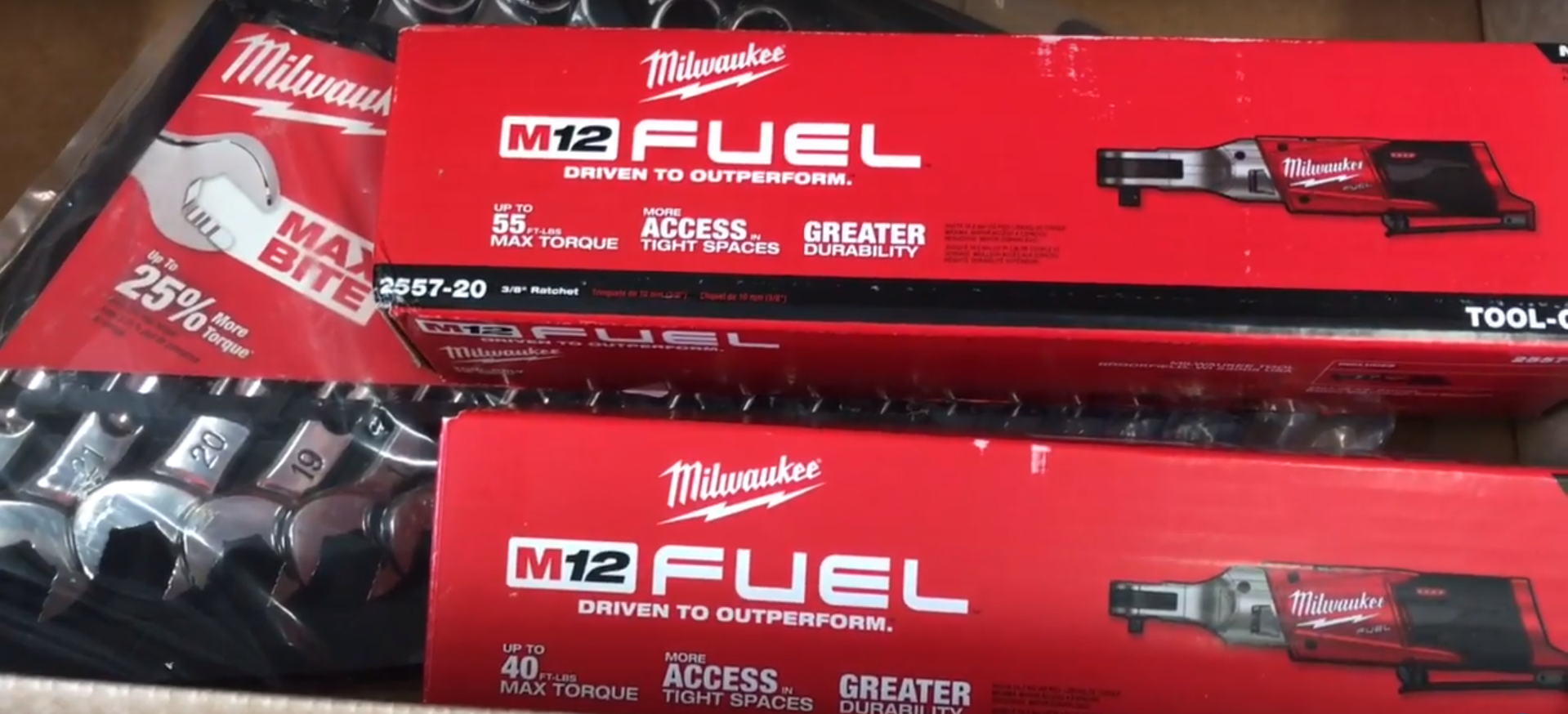 milwaukee m12 logo. the new second generation milwaukee m12 fuel cordless ratchets logo