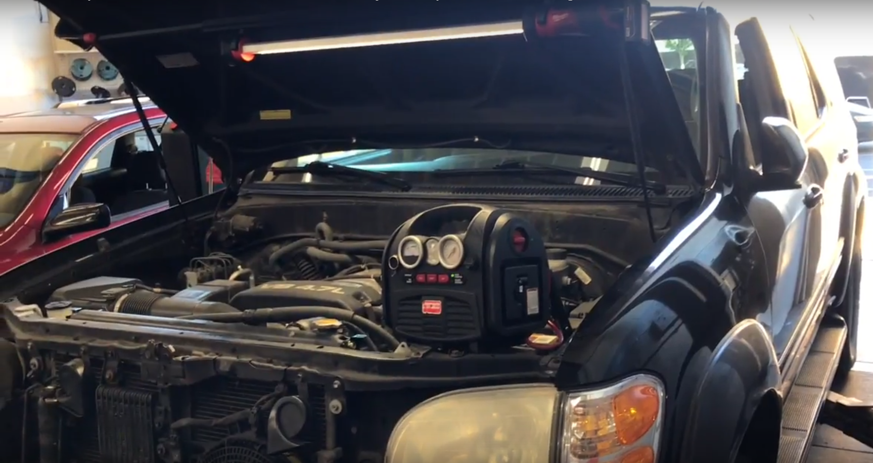 How to Replace the Alternator on a 2000-2007 Toyota Sequoia with 4 7