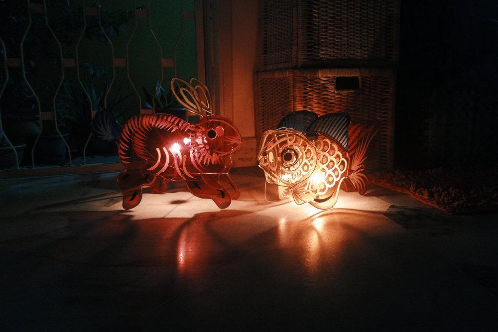 celebrating Lantern Festival @ home, september 2016.