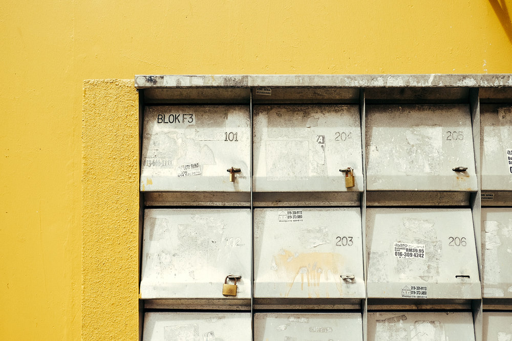 mailboxes.