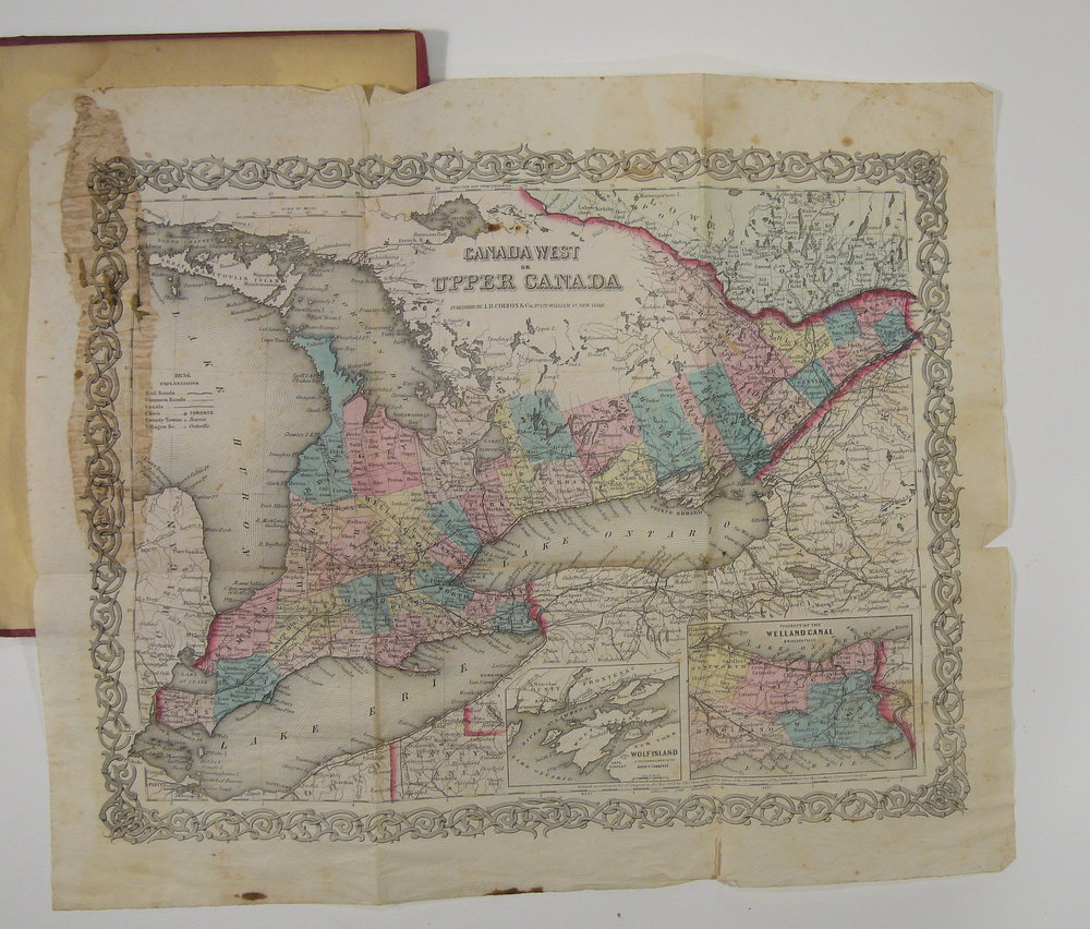 Canada West or Upper Canada , 1855. Before treatment.