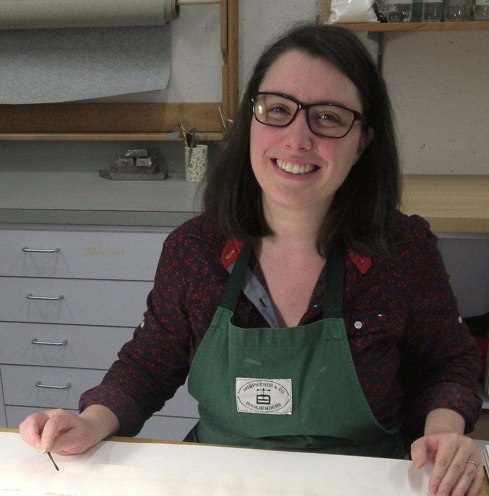 Jennifer Robertson, Book and Paper Conservator