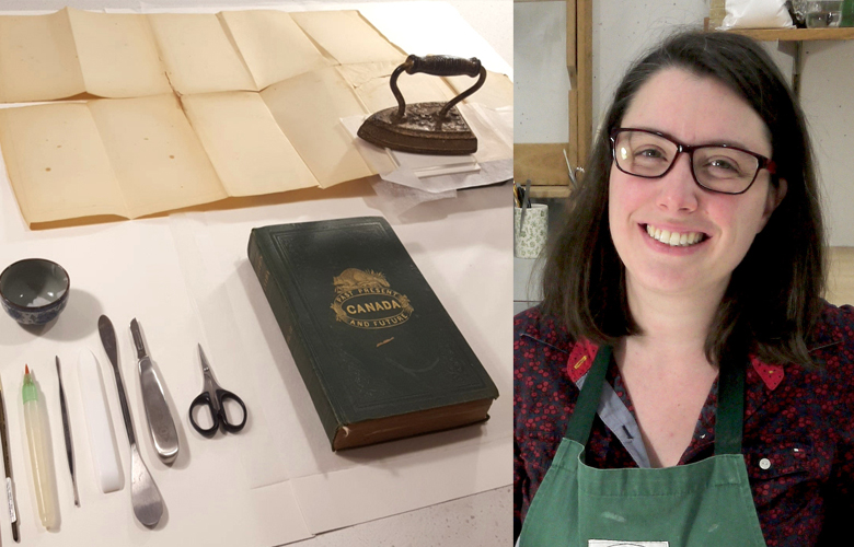 The Lazy Historian interviews Jennifer Robertson about the profession of art conservation.