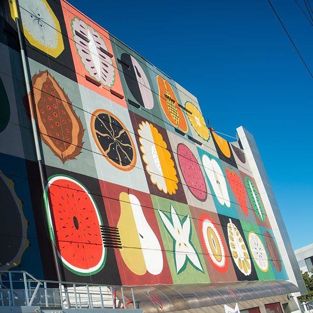 Así quedó el mural de @agostinoiacurci sobre Asunción con Luis Elizondo. ¡El primero de muchos proyectos de arte para embellecer nuestro distrito!