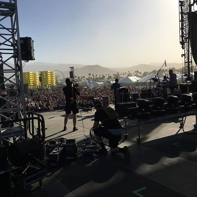 Lord Huron #coachella #vip #backstage