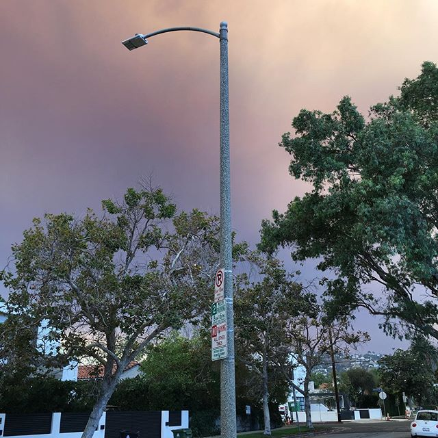 #nofilter #losangeles #fire  This sky looks #crazy