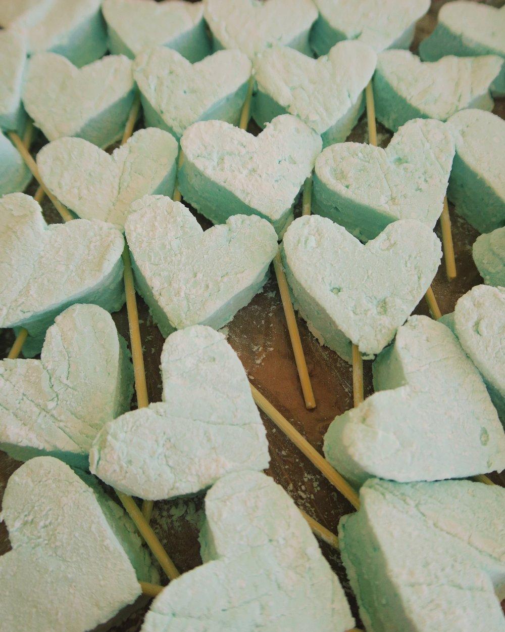 Homemade marshmallow hearts.jpg