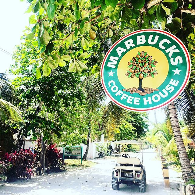 Marbucks Cafe,Ambergris Caye, Belize