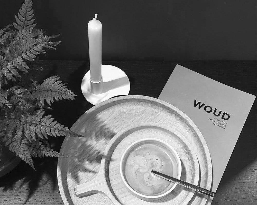 """STYLING EVENT - WOUD   January 2017 - Pernille Christiansen invites influencers to a """"tea time"""" styling event at the WOUD booth during Maison & Objet.   Janvier 2017 - Pernille Christiansen invite les influenceurs à un évènement styling autour du theme """"tea time"""" sur le stand de WOUD lors de Maison & Objet."""