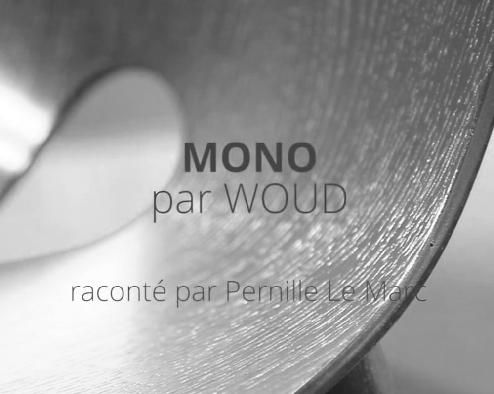 LAUNCH OF THE FIRST VIDEO PRESS RELEASE - WOUD   September 2017 - Pernille Christiansen innovates by launching its very first press release in video. The video presents the Mono series by WOUD.   Septembre 2017 - Pernille Christiansen innove en lançant son tout premier communiqué de presse en vidéo. La vidéo présente la série Mono par WOUD.