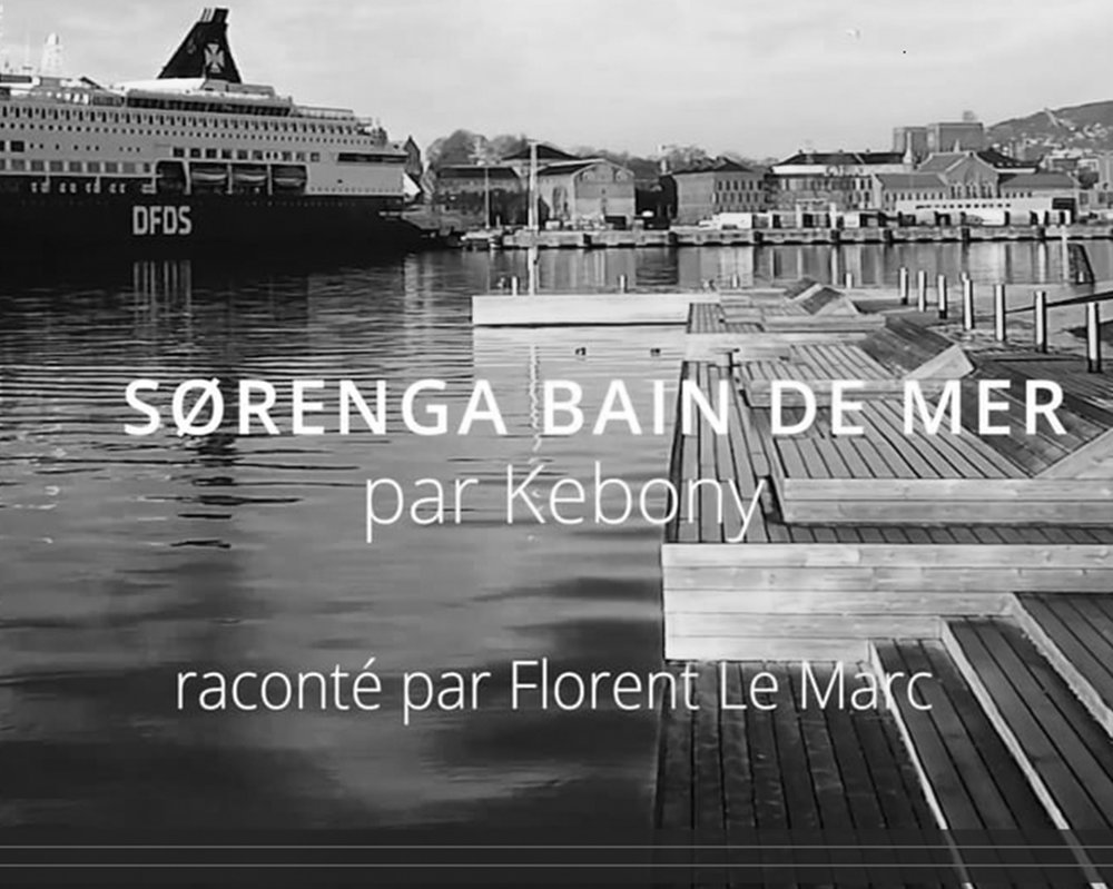 PRODUCTION OF VIDEO PRESS RELEASE - SØRENGA SEA BATH   December 2017 - Pernille Christiansen creates a video press release dedicated to the Sørenga Sea bath, a regeneration project of the Oslo harbour finished with Kebony wood decking.   December 2017 -   Pernille Christiansen crée un communiqué de presse vidéo consacré au bain de mer de Sørenga, un projet de régénération du port d'Oslo comprenant des terrasse en bois Kebony.