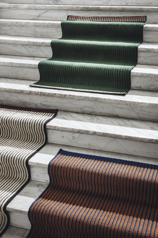 02/03/2018 - LOUISE ROELouise Roe lance Loop, un tapis confectionné...