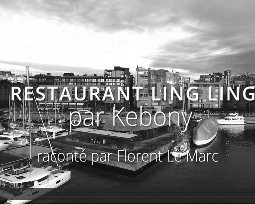 PRODUCTION OF VIDEO PRESS RELEASE - RESTAURANT LING LING   February 2018 - Pernille Christiansen creates a video press release dedicated to the Ling Ling Restaurant in Oslo. The restaurant has a Kebony wood cladding in the shape of a wave.    Février 2018 -   Pernille Christiansen crée un communiqué de presse vidéo consacré au restaurant Ling Ling à Oslo. Le restaurant est connu pour son bardage en bois Kebony en forme de vague.