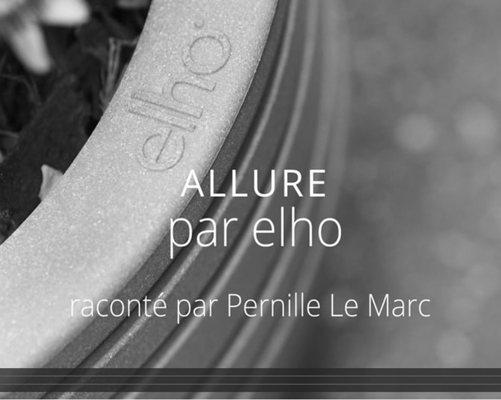 "PRODUCTION OF VIDEO PRESS RELEASE - ALLURE   March 2018 - Pernille Christiansen creates a video press release dedicated to the Allure collection by elho. The collection is made of a synthetic material mixed with wood fibers.   March 2018 - Pernille Christiansen crée un communiqué de presse vidéo consacré à la collection Allure par elho.               96                Normal     0             21             false     false     false         FR     JA     X-NONE                                                                                                                                                                                                                                                                                                                                                                                                                                                                                                                                                                                                                                                                                                             /* Style Definitions */ table.MsoNormalTable 	{mso-style-name:""Tableau Normal""; 	mso-tstyle-rowband-size:0; 	mso-tstyle-colband-size:0; 	mso-style-noshow:yes; 	mso-style-priority:99; 	mso-style-parent:""""; 	mso-padding-alt:0cm 5.4pt 0cm 5.4pt; 	mso-para-margin:0cm; 	mso-para-margin-bottom:.0001pt; 	mso-pagination:widow-orphan; 	font-size:12.0pt; 	font-family:Calibri; 	mso-ascii-font-family:Calibri; 	mso-ascii-theme-font:minor-latin; 	mso-hansi-font-family:Calibri; 	mso-hansi-theme-font:minor-latin; 	mso-fareast-language:EN-US;}      La collection est fabriquée dans un matériau synthétique à base de fibres de bois."