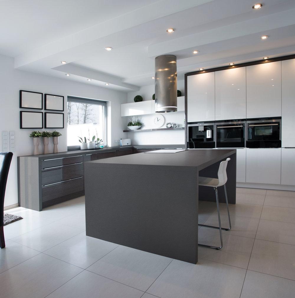 CQ700 Concrete Grey Countertop