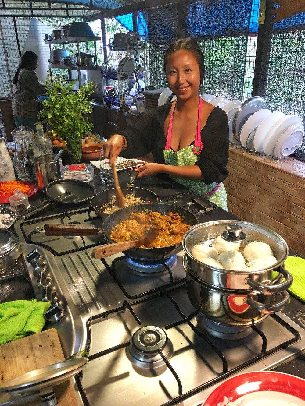nimi cooking class kerala