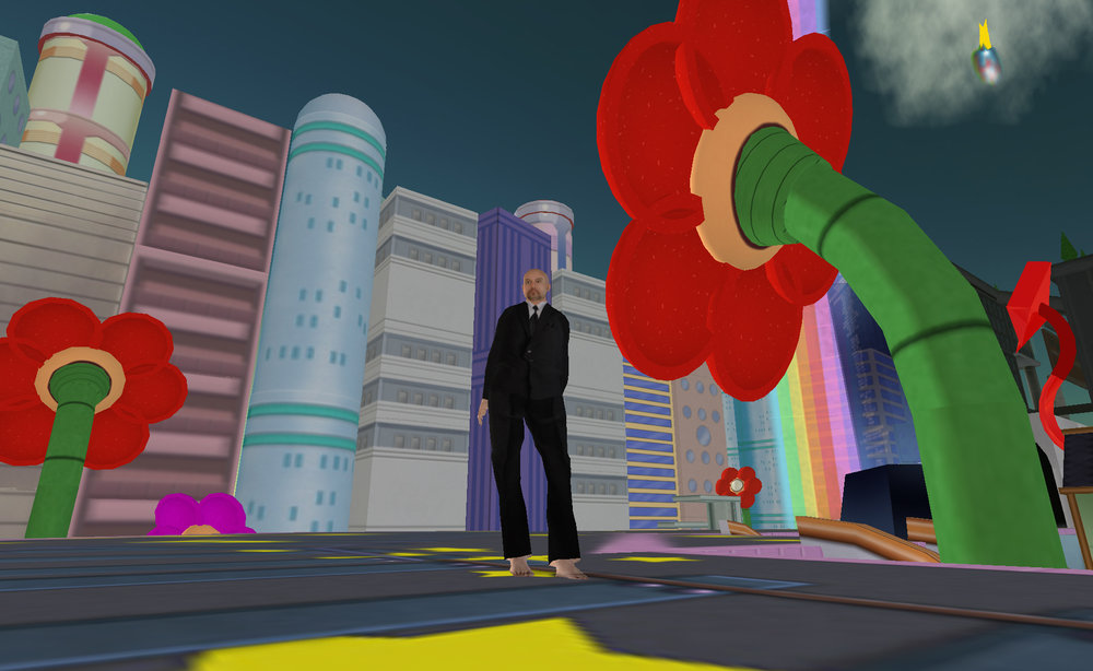 Douglas Gayeton,  Molotov Alva and His Search for the Creator: A Second Life Odyssey , 2007.