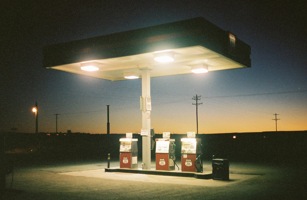 Leonardo Sang,  Route 66 , 2014 (from  Across the USA  series).