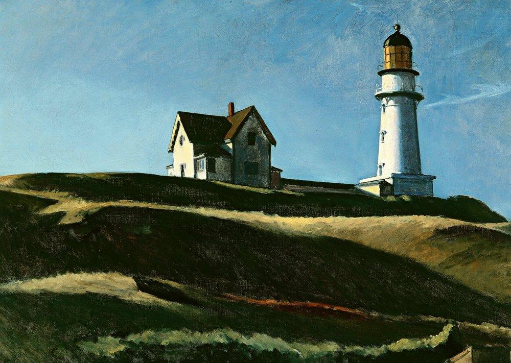 Edward Hopper,Lighthouse Hill
