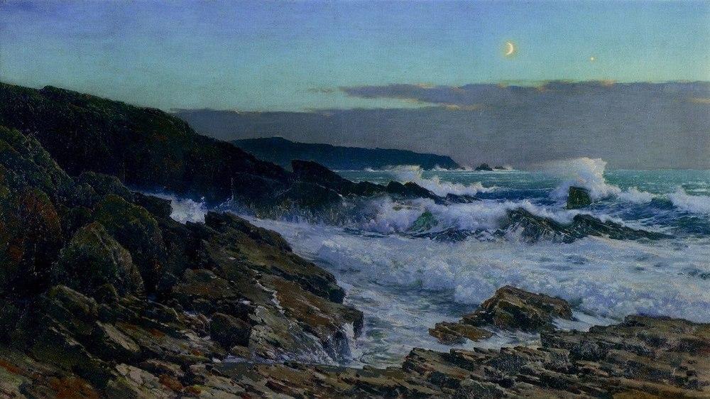 Frederick Judd Waugh (1861-1940), Moonlight