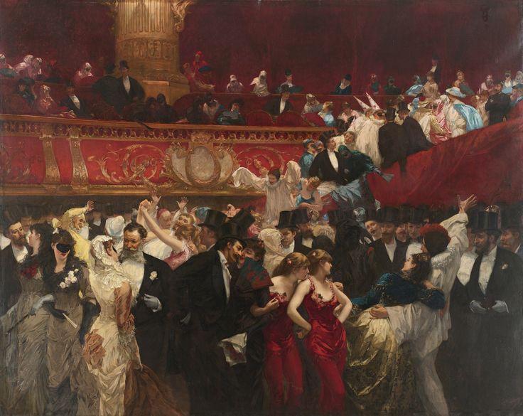Le bal-masquéàl'Opéra by  Hermans